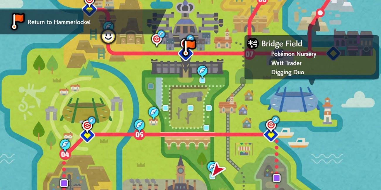 Bridge Field Zone Pokemon Sword and Shield