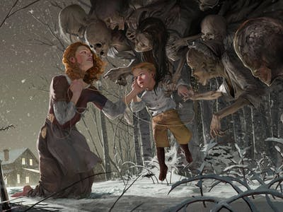 Fantasy Concept Artist Michael MacRae Explains His Haunted Zombie Forests