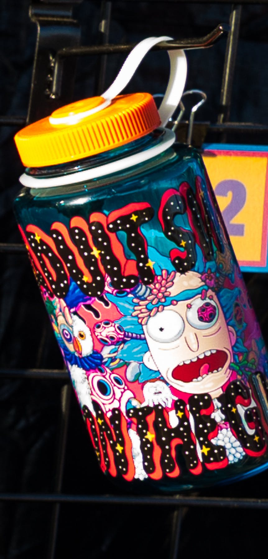 Drink up with Rick and Morty