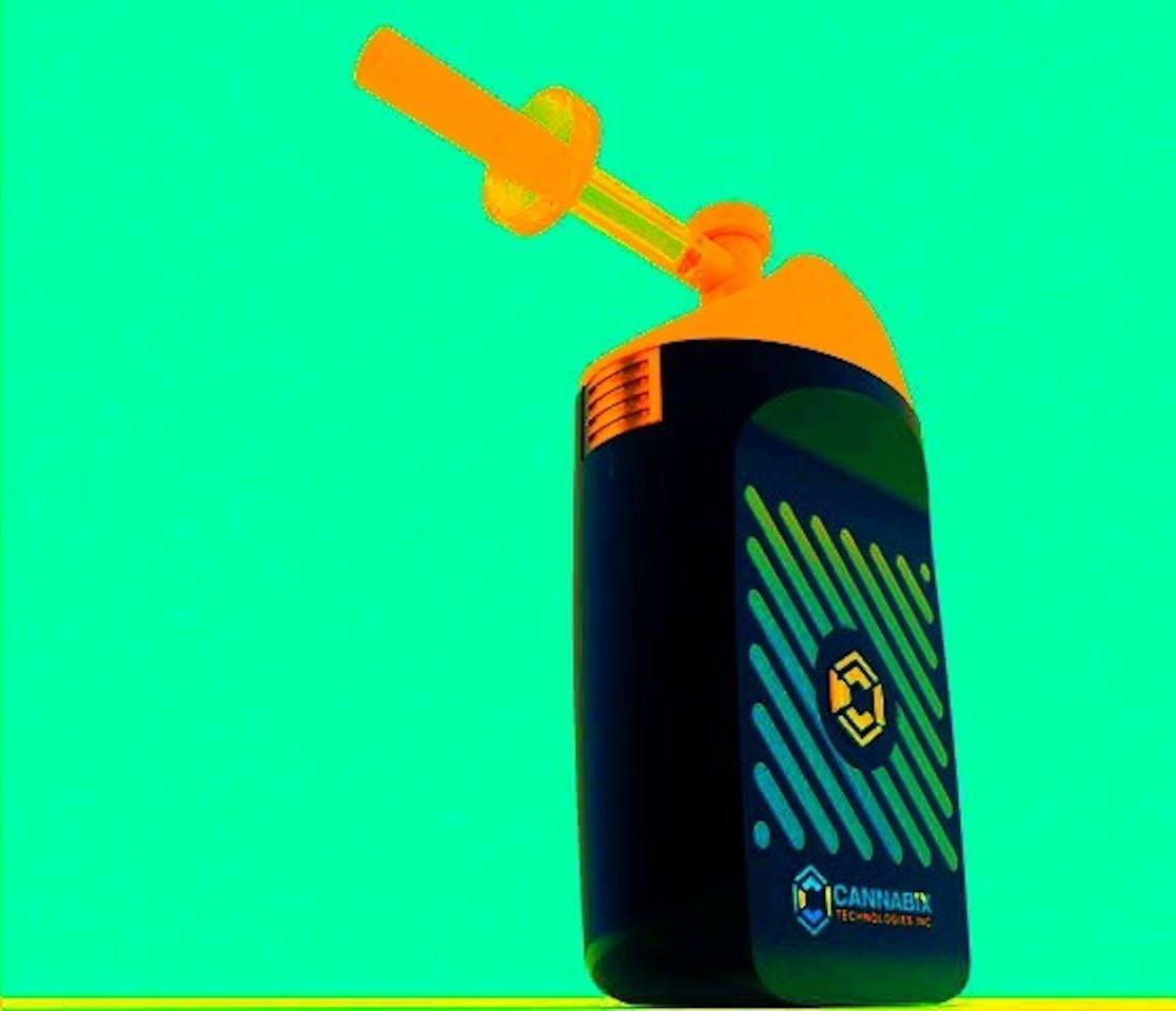 Cannabix's marijuana breathalyzer prototype.
