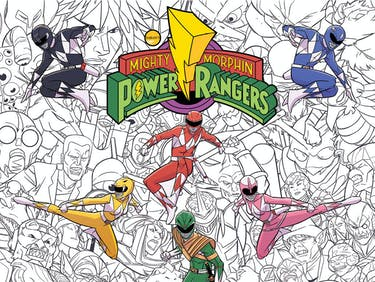 Morph the Red Ranger Into Any Color in New 'Power Rangers' Book