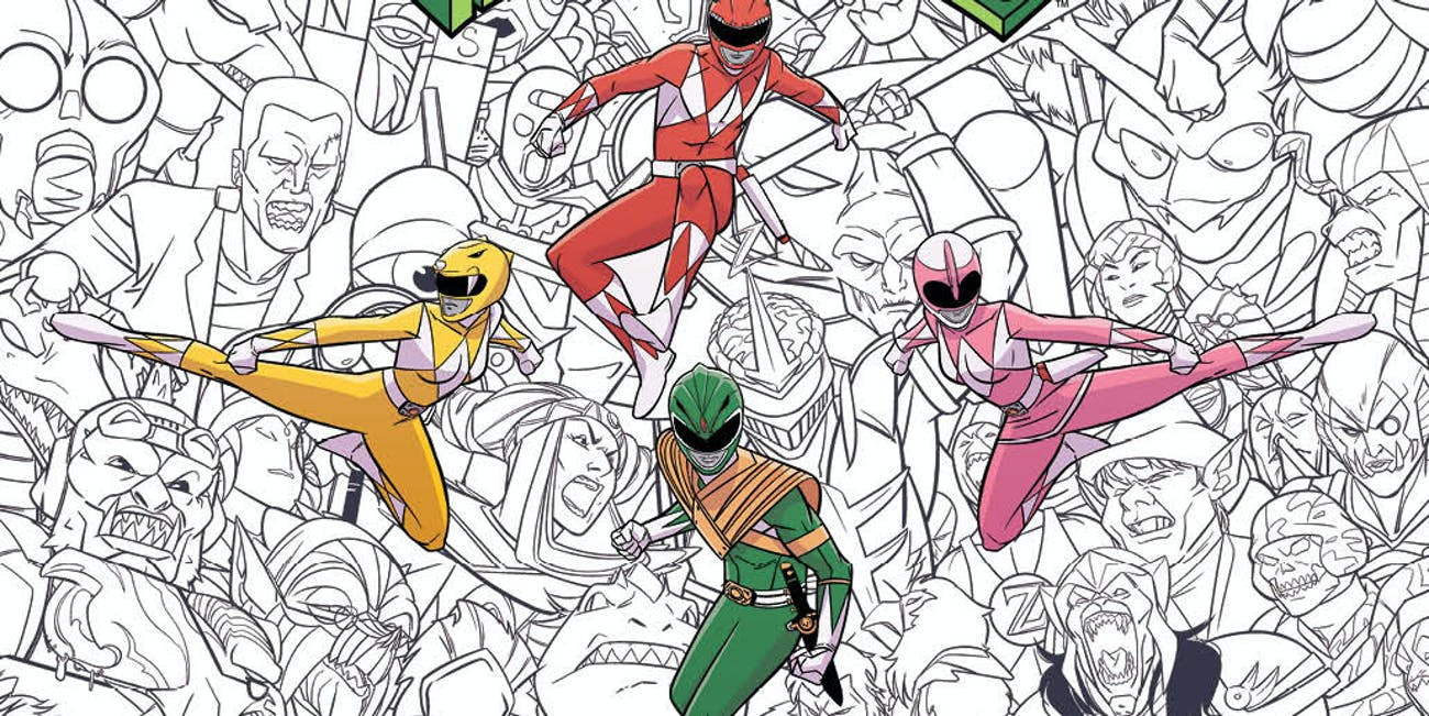 Morph The Red Ranger Into Any Color In New Power Rangers Book