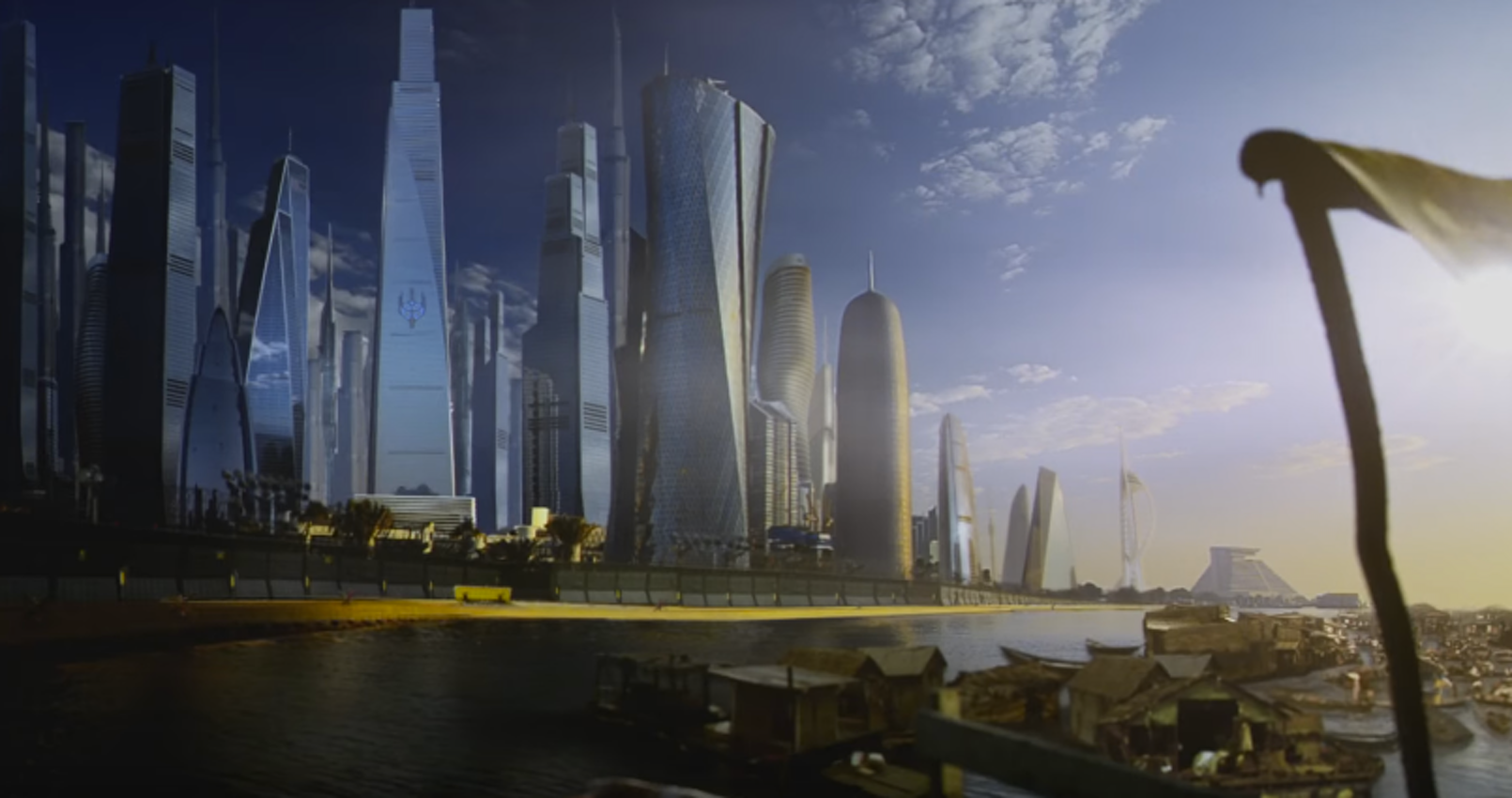 The divide between the Red and Green Zone in Syfy's 'Incorporated'