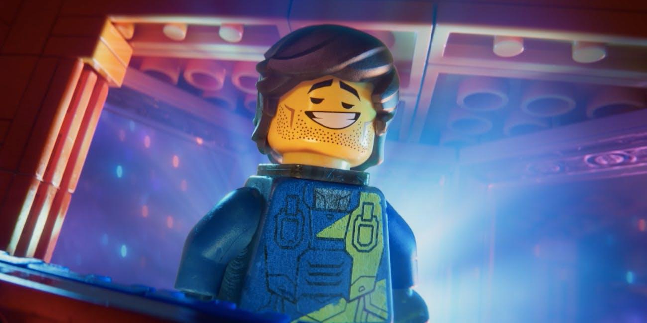Lego Movie 2 Rex Danvervest