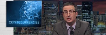 John Oliver on cryptocurrency