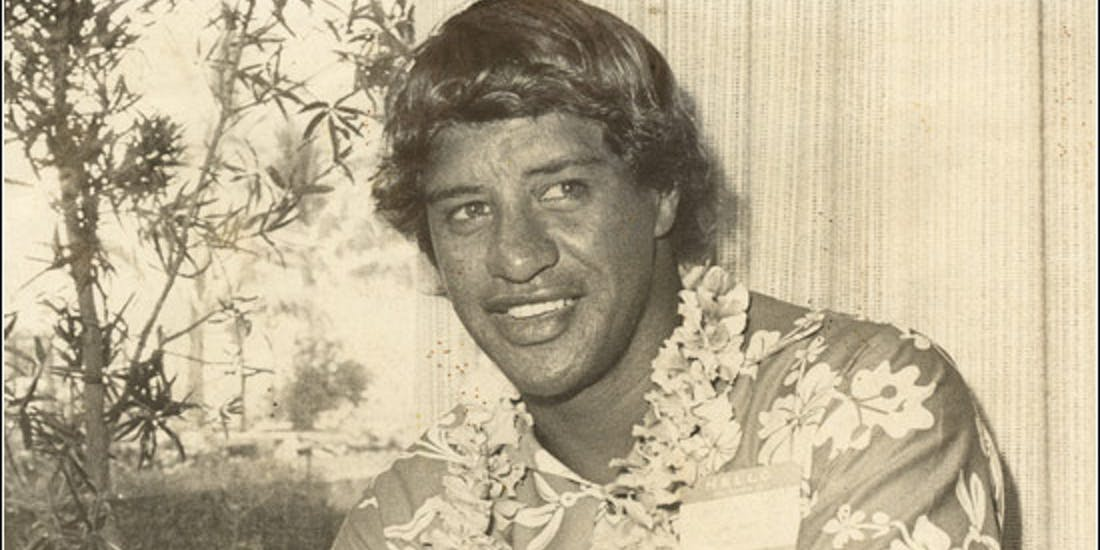 In 1971, Eddie Aikau was named city and county lifeguard of the year.