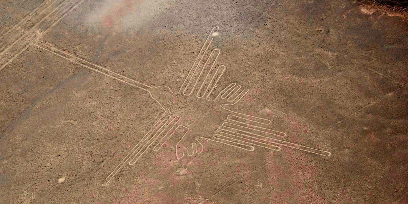 humming bird, Nazca lines