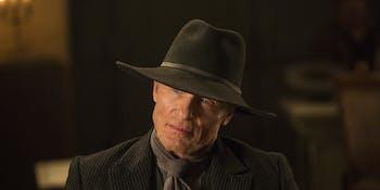 Ed Harris as the Man in Black in 'Westworld'