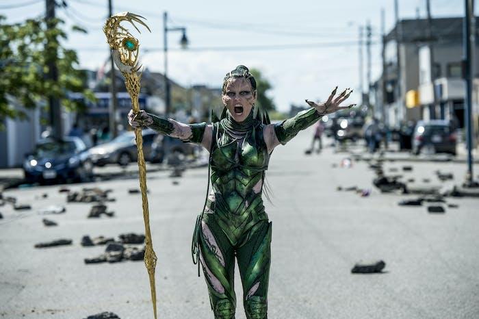 Elizabeth Banks as Rita Repulsa in 'Power Rangers'