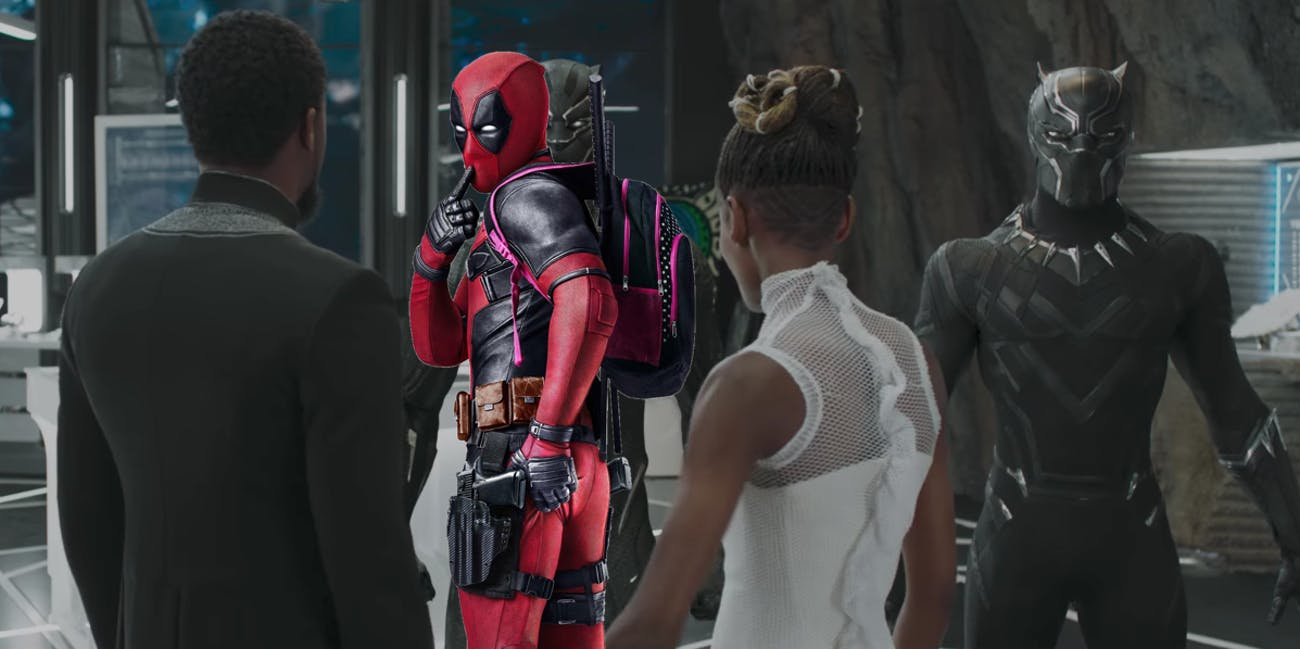 The trailer for 'Deadpool 2' will premiere before 'Black Panther'.
