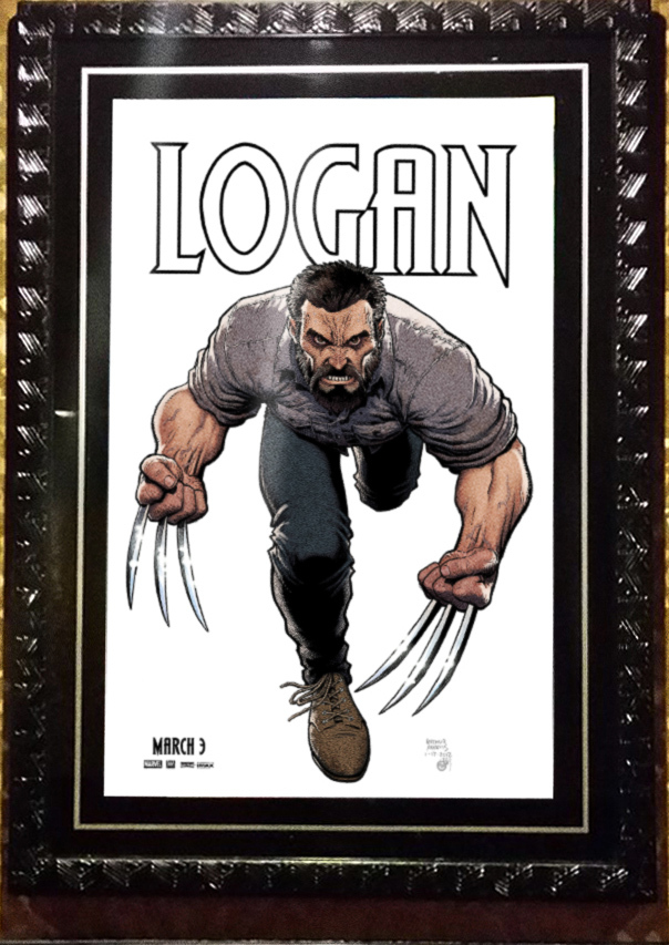 Art Adams 'Logan' poster.