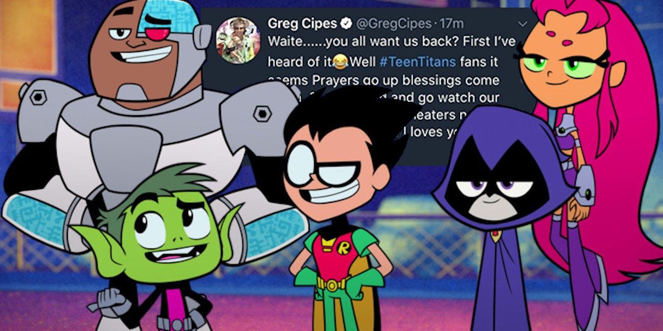 Teen Titans Go Actor Hints Original Series Revival In -9644