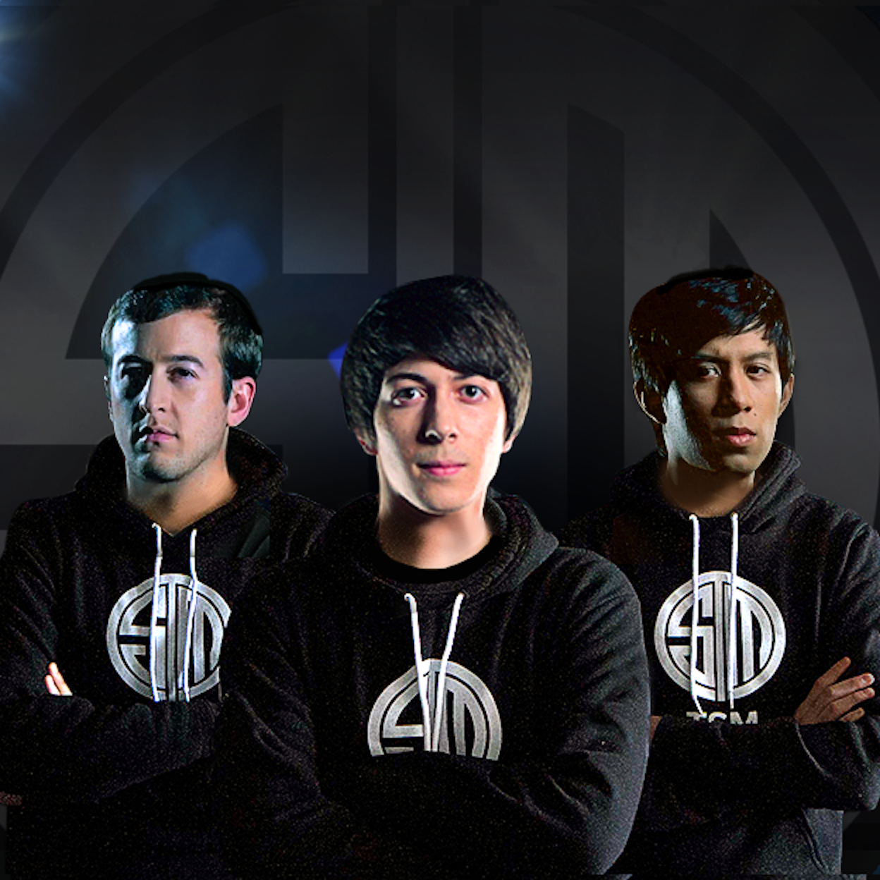 That's Valore there on the left with the original TSM 'Vainglory' team.