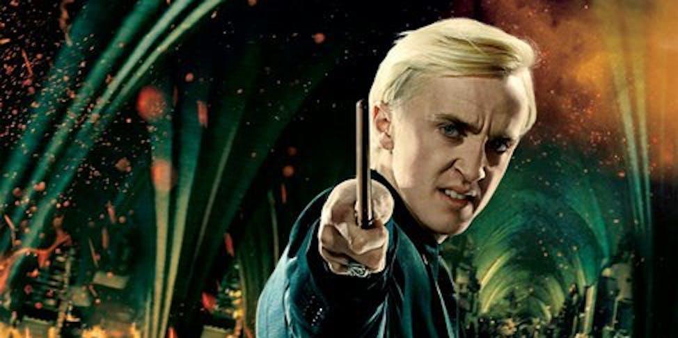 Draco Malfoy in Harry Potter
