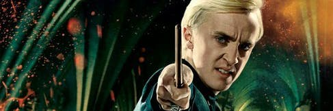 Draco Malfoy in Harry Potter