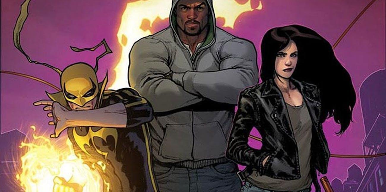 Defenders Iron Fist Luke Cage Jessica Jones