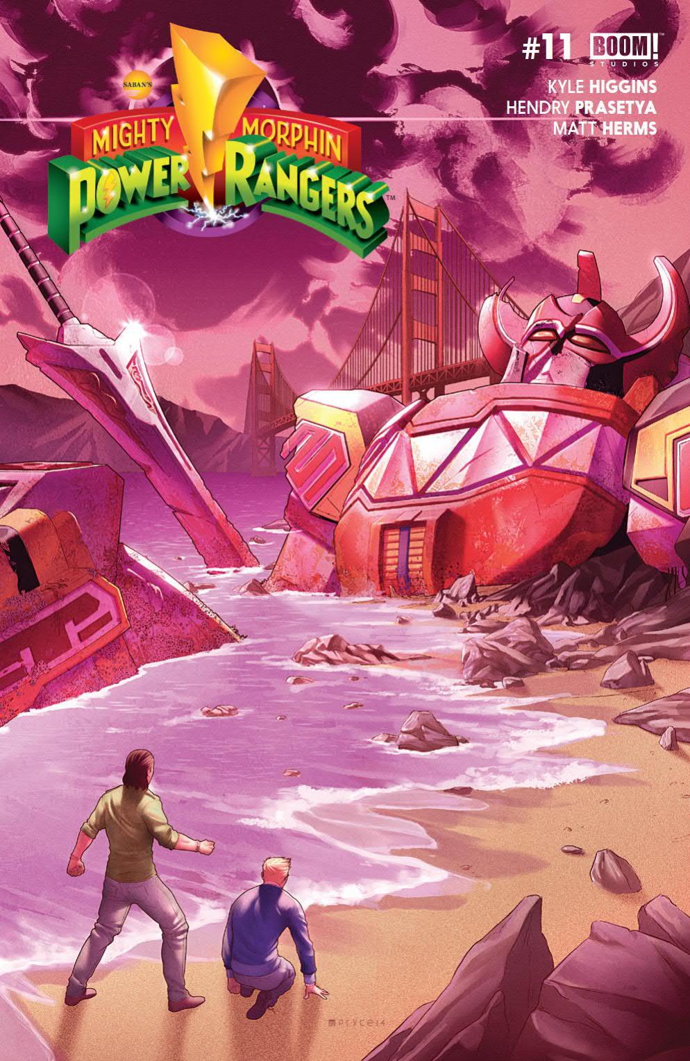 Power Rangers Comic Boom Studios