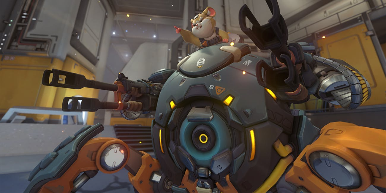 Hammond\Wrecking Ball Overwatch