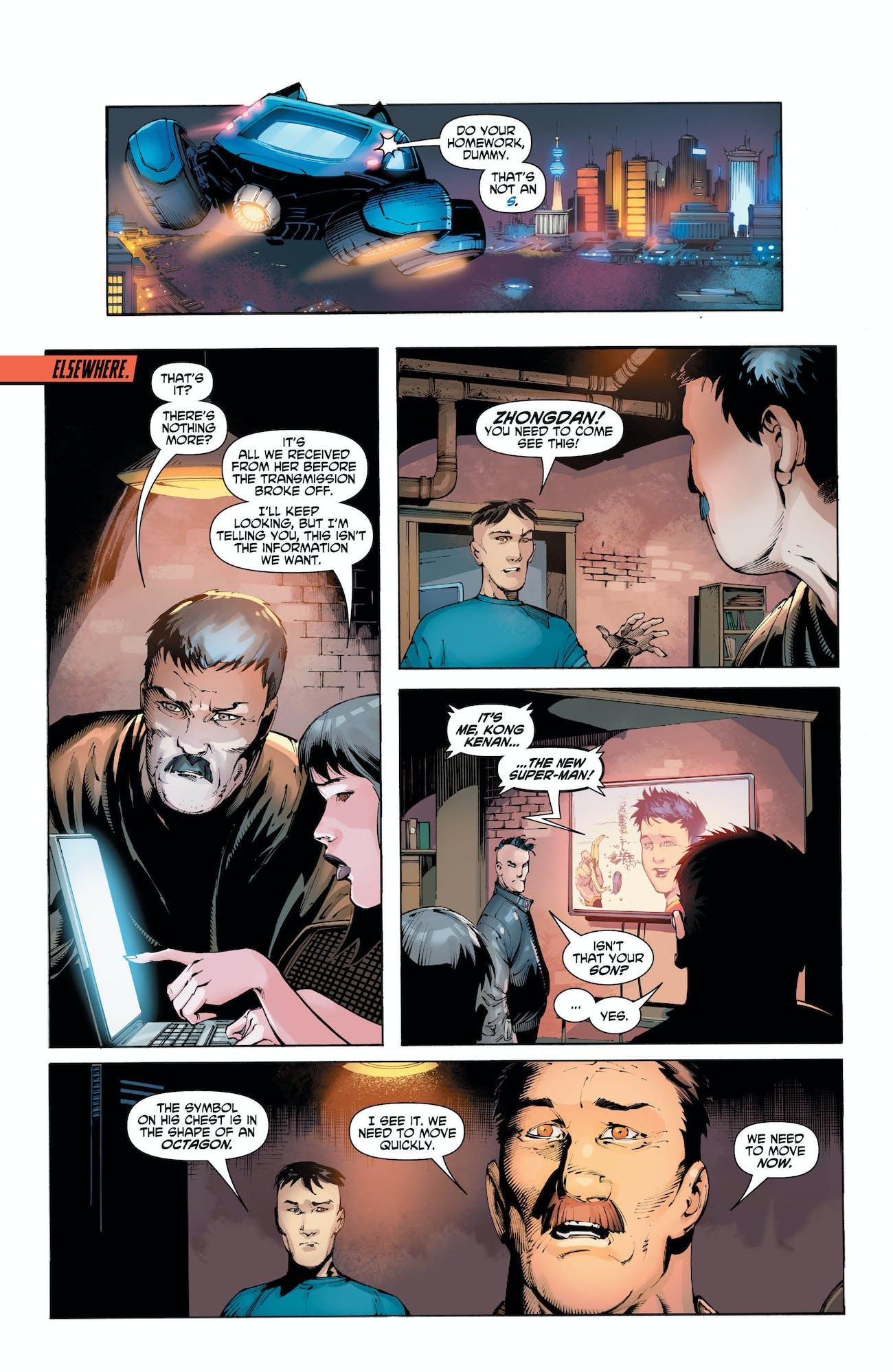 DC Comics Super-Man Chinese Super-Man