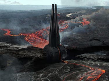 Darth Vader's 'Rogue One' Castle Helps Him Harness Sith Energy