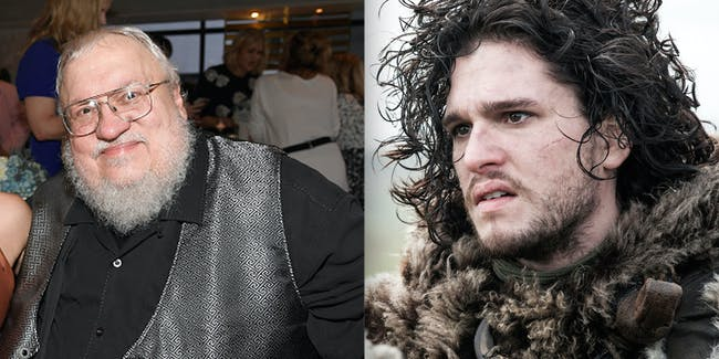 George R R Martin's New 'Game of Thrones' story