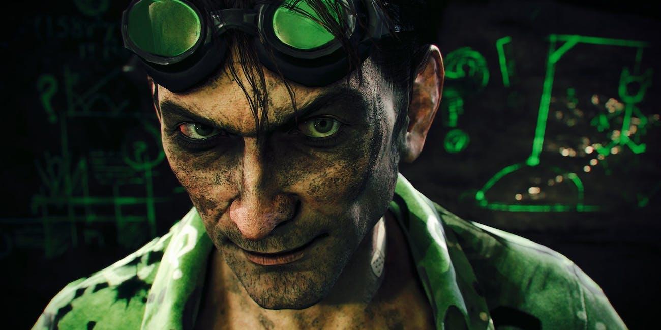 Riddler in the Arkham video games.