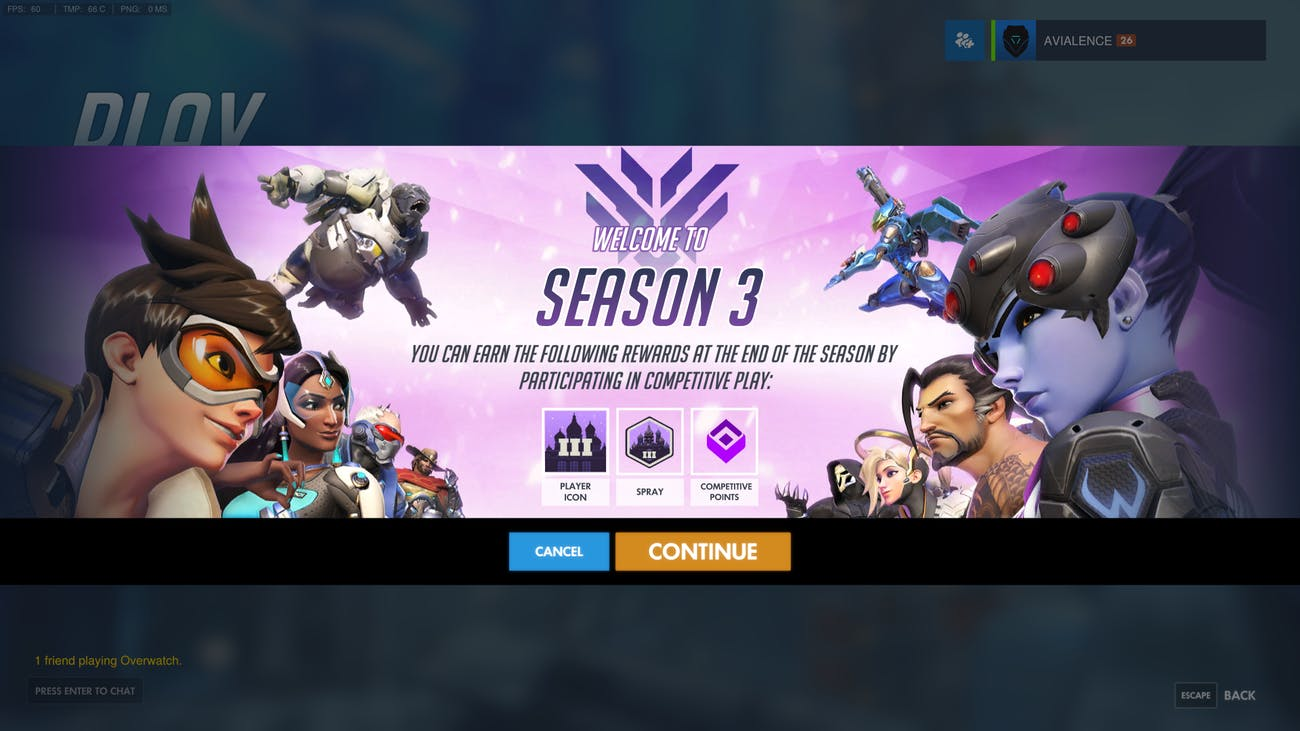 a guide to overwatch season 3 competitive ranking inverse