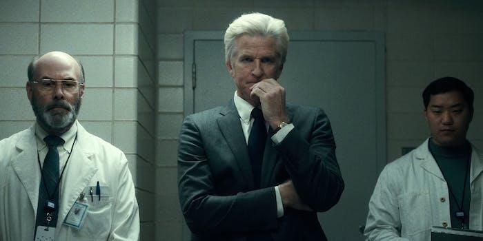 Matthew Modine as Dr. Brenner in 'Stranger Things.'