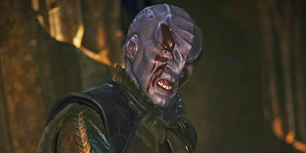 A Klingon -- 'Star Trek: Discovery'.