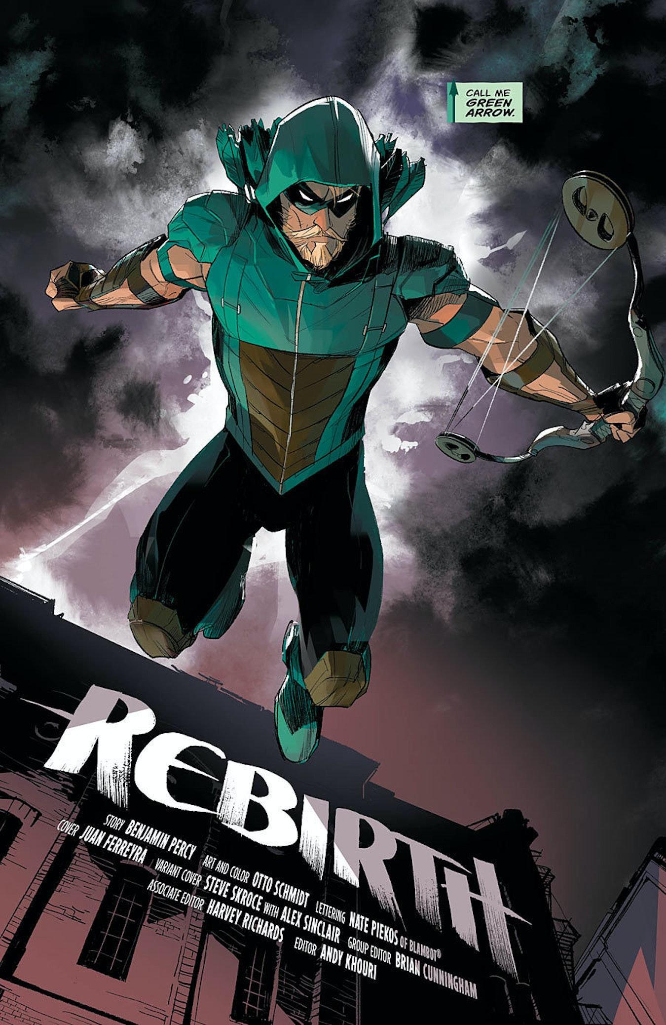 Oliver Queen Arrow Island DC's Green Arrow Refoc...