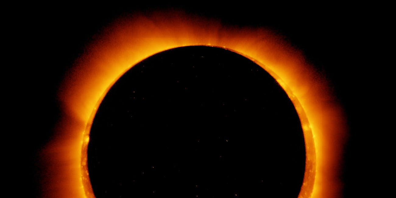 An annular solar eclipse.
