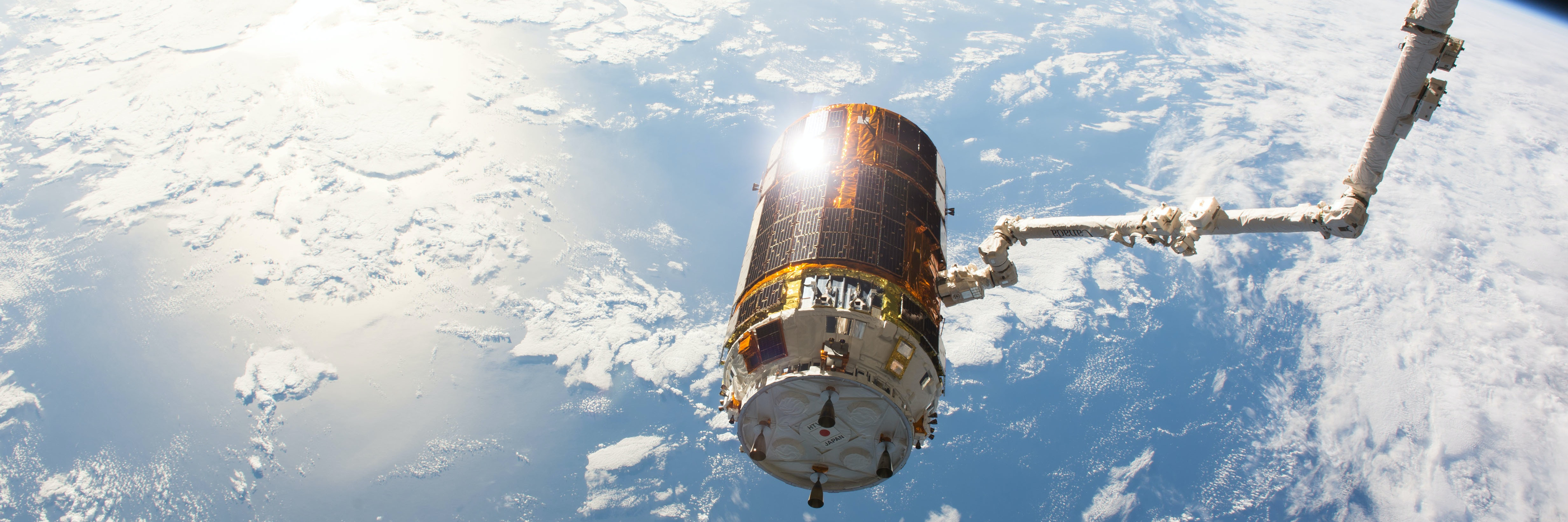 Japanese HTV-6 Released from Station