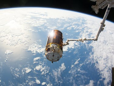 Failed Japanese Space Junk Experiment Plunges Back to Earth