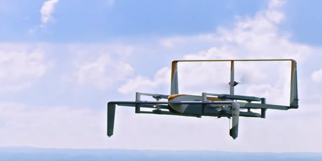 The future of home delivery - but just for the United Kingdom.