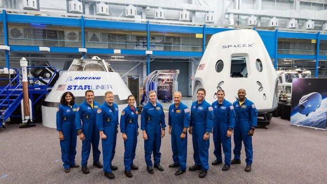 nasa astronauts spacex boeing astronauts