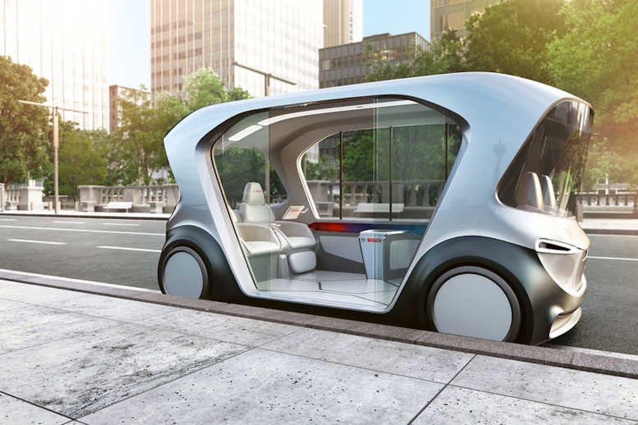 Bosch electric driving pod
