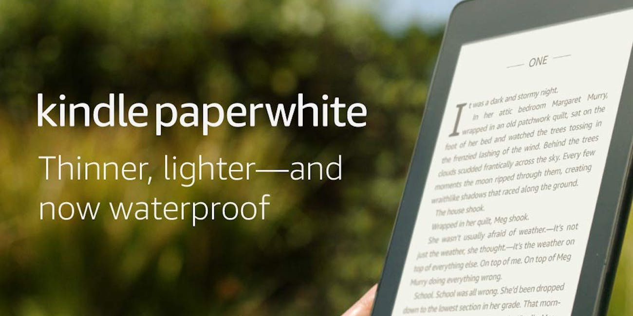 The New and Improved Kindle Paperwhite Is Among Prime's Day