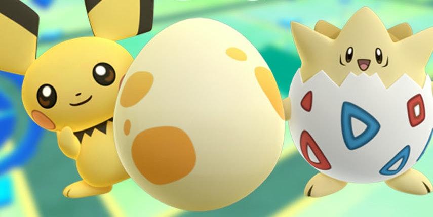 Nintendo Pokemon Go Pikachu Pichu Togepi
