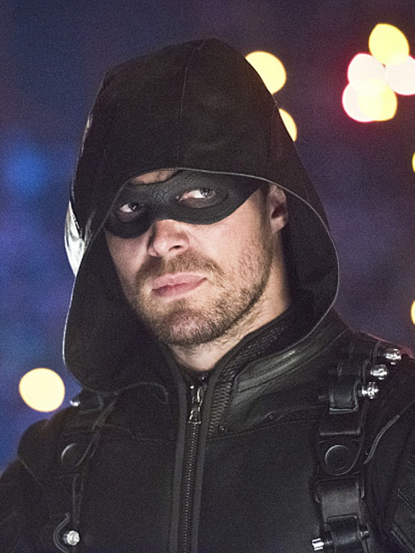 Stephen Amell as the Green Arrow in 'Arrow'