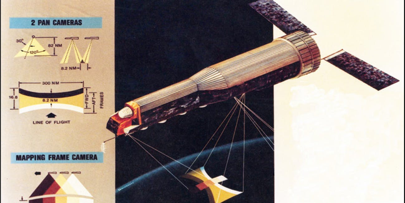 KH9 spy satellite