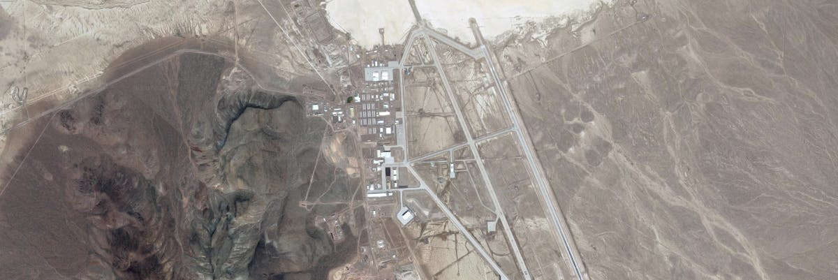 Google maps timeline area 51 groom lake nevada