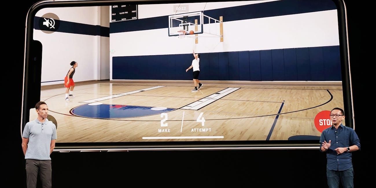 augmented reality homecourt