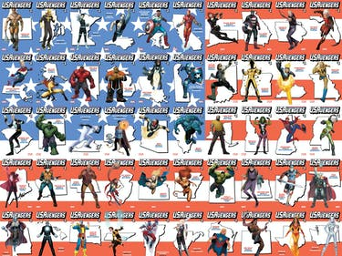 Marvel's Official Avengers for Each State Are Confusing AF