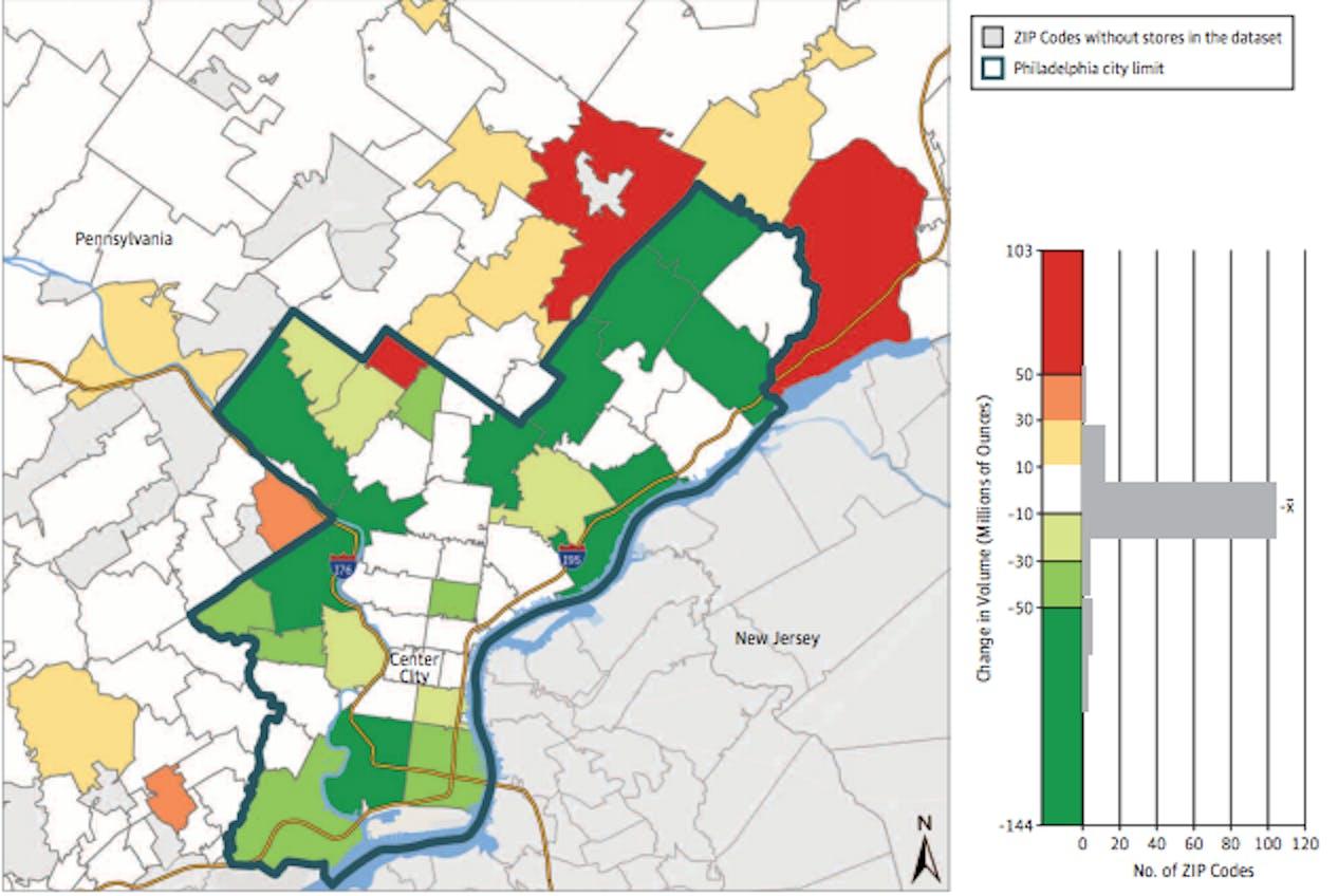 Zip Code Map Philadelphia on