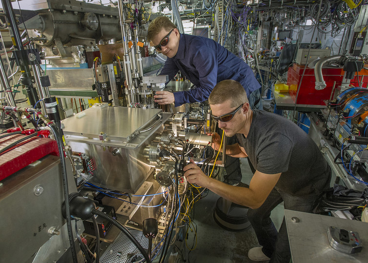 Brookhaven National Laboratory's Accelerator Test Facility provides researchers with high-brightness electron and laser beams.