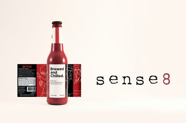 The Sense 8-inspired red ale.