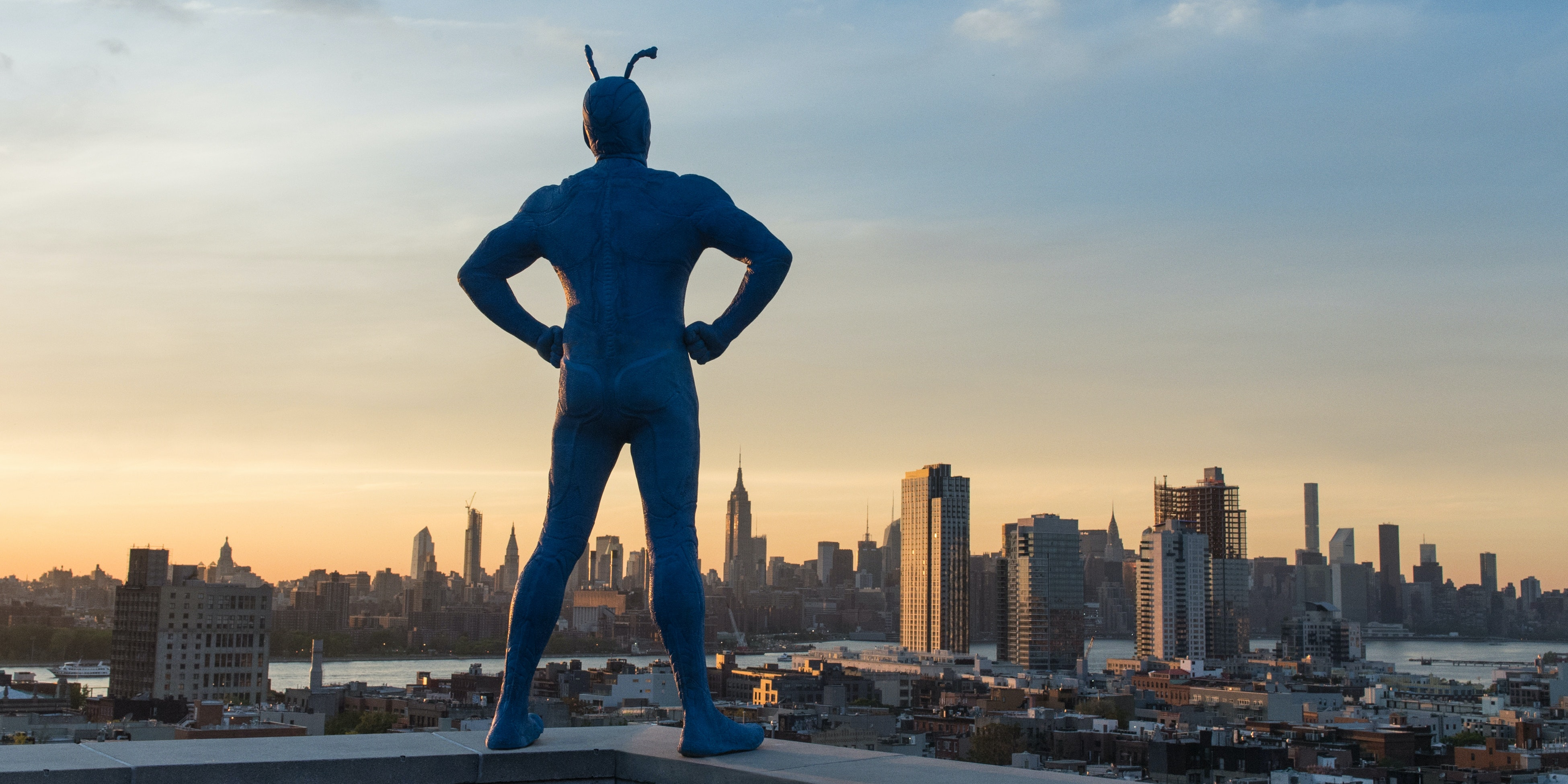 'The Tick', coming soon to Amazon
