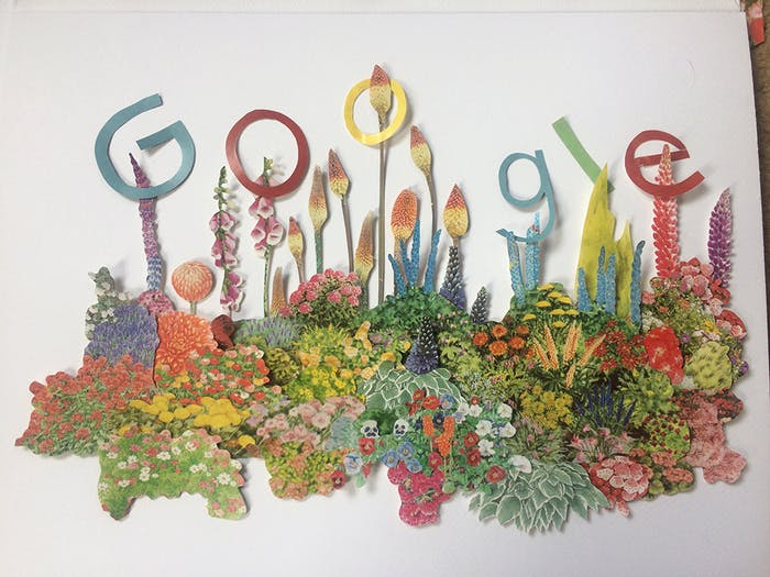 Google Doodle.