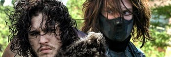 Winter Soldier Bucky Jon Snow Marvel Game of Thrones