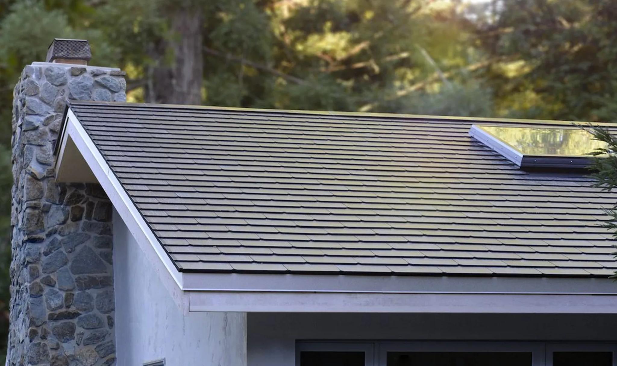 Tesla roof update